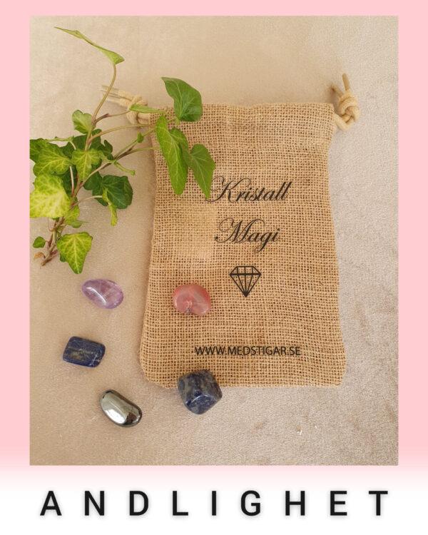 Bild på kristall tillbud